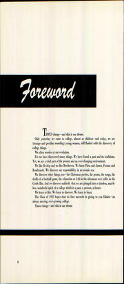 Page 10, 1951 Edition, Elmira College - Iris Yearbook (Elmira, NY) online yearbook collection