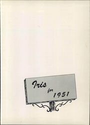 Page 7, 1951 Edition, Elmira College - Iris Yearbook (Elmira, NY) online yearbook collection