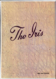 Elmira College - Iris Yearbook (Elmira, NY) online yearbook collection, 1952 Edition, Page 1