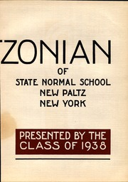 Page 11, 1938 Edition, SUNY at New Paltz - Paltzonian Yearbook (New Paltz, NY) online yearbook collection