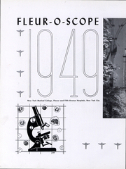 Page 5, 1949 Edition, New York Medical College - Fleuroscope Yearbook (Valhalla, NY) online yearbook collection