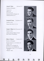Page 54, 1935 Edition, Niagara University - Niagaran Yearbook (Lewiston, NY) online yearbook collection