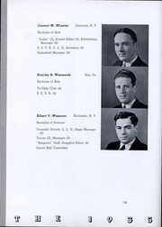 Page 55, 1935 Edition, Niagara University - Niagaran Yearbook (Lewiston, NY) online yearbook collection