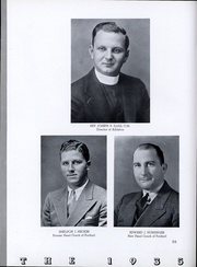 Page 65, 1935 Edition, Niagara University - Niagaran Yearbook (Lewiston, NY) online yearbook collection