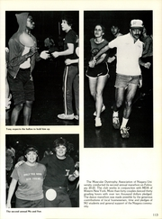 Page 117, 1981 Edition, Niagara University - Niagaran Yearbook (Lewiston, NY) online yearbook collection