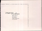 Page 5, 1940 Edition, Nichols School - Verdian Yearbook (Buffalo, NY) online yearbook collection