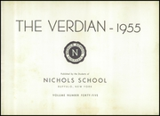 Page 7, 1955 Edition, Nichols School - Verdian Yearbook (Buffalo, NY) online yearbook collection