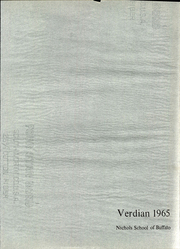 Page 5, 1965 Edition, Nichols School - Verdian Yearbook (Buffalo, NY) online yearbook collection