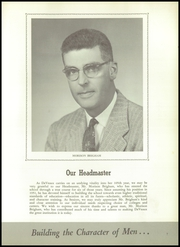 Page 13, 1958 Edition, DeVeaux School - Chevron Yearbook (Niagara Falls, NY) online yearbook collection