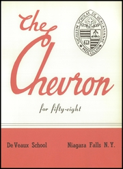 Page 7, 1958 Edition, DeVeaux School - Chevron Yearbook (Niagara Falls, NY) online yearbook collection