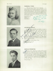 Page 16, 1941 Edition, The Park School - Spark Yearbook (Buffalo, NY) online yearbook collection