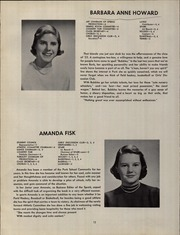 Page 16, 1953 Edition, The Park School - Spark Yearbook (Buffalo, NY) online yearbook collection