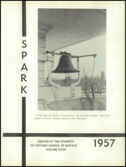 Page 5, 1957 Edition, The Park School - Spark Yearbook (Buffalo, NY) online yearbook collection