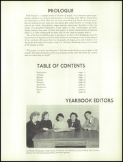 Page 7, 1957 Edition, The Park School - Spark Yearbook (Buffalo, NY) online yearbook collection