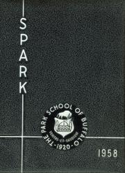 Page 1, 1958 Edition, The Park School - Spark Yearbook (Buffalo, NY) online yearbook collection