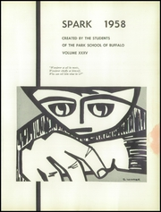 Page 5, 1958 Edition, The Park School - Spark Yearbook (Buffalo, NY) online yearbook collection