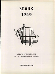 Page 7, 1959 Edition, The Park School - Spark Yearbook (Buffalo, NY) online yearbook collection