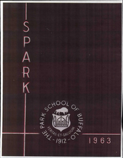Page 1, 1963 Edition, The Park School - Spark Yearbook (Buffalo, NY) online yearbook collection
