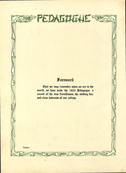 Page 13, 1923 Edition, University at Albany - Pedagogue Yearbook (Albany, NY) online yearbook collection