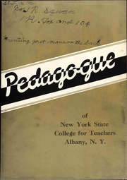 Page 9, 1936 Edition, University at Albany - Pedagogue Yearbook (Albany, NY) online yearbook collection