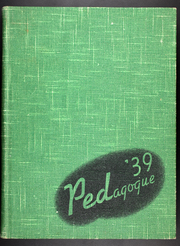 Page 1, 1939 Edition, University at Albany - Pedagogue Yearbook (Albany, NY) online yearbook collection