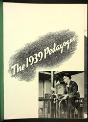 Page 5, 1939 Edition, University at Albany - Pedagogue Yearbook (Albany, NY) online yearbook collection