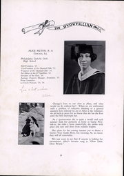 Page 15, 1925 Edition, DYouville College - DYouvillian Yearbook (Buffalo, NY) online yearbook collection