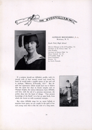 Page 16, 1925 Edition, DYouville College - DYouvillian Yearbook (Buffalo, NY) online yearbook collection