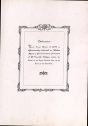 Page 4, 1925 Edition, DYouville College - DYouvillian Yearbook (Buffalo, NY) online yearbook collection