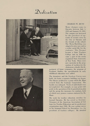 Page 6, 1951 Edition, SUNY at Oneonta - Oneontan Yearbook (Oneonta, NY) online yearbook collection