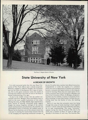 Page 10, 1958 Edition, SUNY at Oneonta - Oneontan Yearbook (Oneonta, NY) online yearbook collection