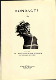 Page 7, 1936 Edition, Camp Rondack - Rondacts Yearbook (Pottersville, NY) online yearbook collection