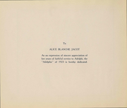 Page 4, 1923 Edition, Adelphi Academy - Adelphic Yearbook (Brooklyn, NY) online yearbook collection