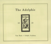 Page 7, 1925 Edition, Adelphi Academy - Adelphic Yearbook (Brooklyn, NY) online yearbook collection