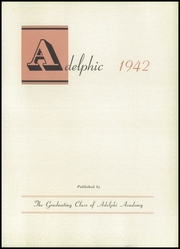 Page 7, 1942 Edition, Adelphi Academy - Adelphic Yearbook (Brooklyn, NY) online yearbook collection