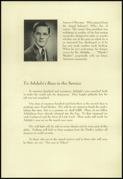Page 12, 1943 Edition, Adelphi Academy - Adelphic Yearbook (Brooklyn, NY) online yearbook collection