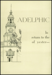 Page 4, 1943 Edition, Adelphi Academy - Adelphic Yearbook (Brooklyn, NY) online yearbook collection