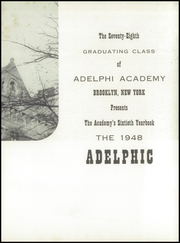 Page 7, 1948 Edition, Adelphi Academy - Adelphic Yearbook (Brooklyn, NY) online yearbook collection