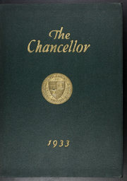 Page 1, 1933 Edition, Brooklyn Law School - Chancellor Yearbook (Brooklyn, NY) online yearbook collection