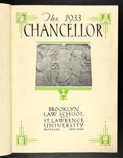 Page 7, 1933 Edition, Brooklyn Law School - Chancellor Yearbook (Brooklyn, NY) online yearbook collection