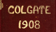 Page 1, 1908 Edition, Colgate University - Salmagundi Yearbook (Hamilton, NY) online yearbook collection