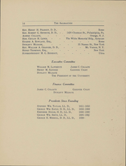 Page 15, 1908 Edition, Colgate University - Salmagundi Yearbook (Hamilton, NY) online yearbook collection