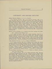 Page 16, 1908 Edition, Colgate University - Salmagundi Yearbook (Hamilton, NY) online yearbook collection