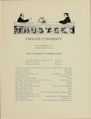 Page 14, 1910 Edition, Colgate University - Salmagundi Yearbook (Hamilton, NY) online yearbook collection