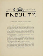Page 16, 1910 Edition, Colgate University - Salmagundi Yearbook (Hamilton, NY) online yearbook collection