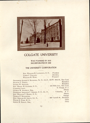 Page 14, 1911 Edition, Colgate University - Salmagundi Yearbook (Hamilton, NY) online yearbook collection