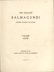 Page 6, 1911 Edition, Colgate University - Salmagundi Yearbook (Hamilton, NY) online yearbook collection