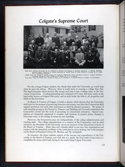Page 16, 1939 Edition, Colgate University - Salmagundi Yearbook (Hamilton, NY) online yearbook collection