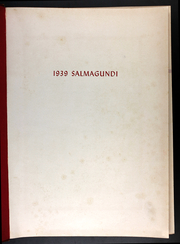 Page 5, 1939 Edition, Colgate University - Salmagundi Yearbook (Hamilton, NY) online yearbook collection