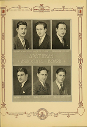 Page 15, 1931 Edition, Columbia University College of Pharmacy - Apothekan Yearbook (New York, NY) online yearbook collection